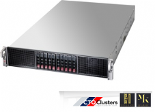 HSQUARE-6143  Cluster Node  - 2u Rack Server w/  4x NVIDIA Tesla K10 -  Deep  Learning